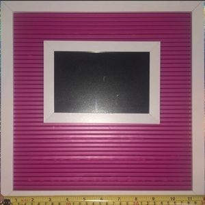 Plastic Letter Board w/ Picture frame